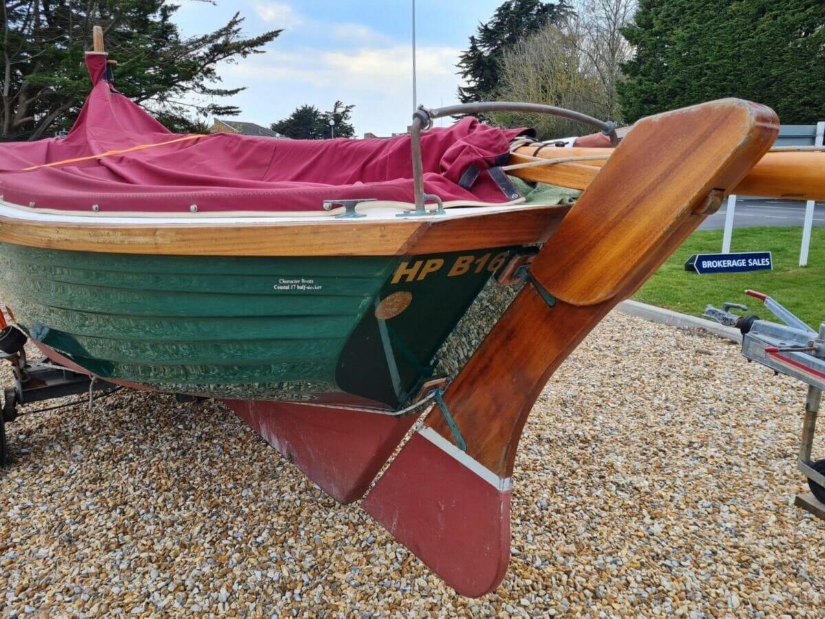 Character Boats Coastal 17 half-decker 1