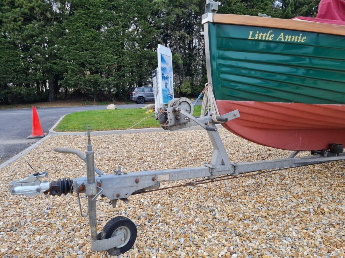 Character Boats Coastal 17 half-deker 8