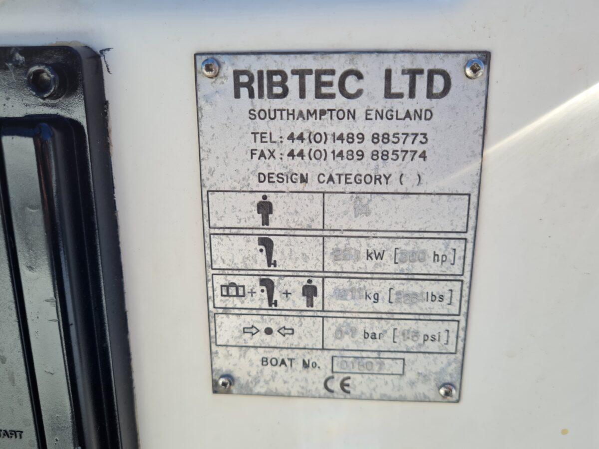 Ribtec 7.5m Diesel Jet RIB (27)